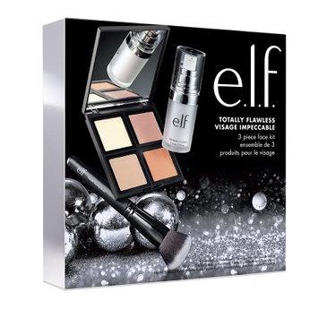 J.a. Cosmetics e.l.f. Flawless Face Primer, Illuminating Palette, and Brush Set