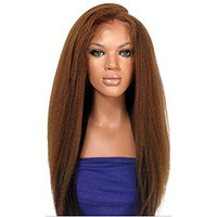 Cruz 703694583537 4 Long wig&color (Deep Orange(brown))