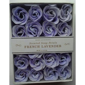 Scented Soap Petals for Body Luxuries - French Lavender [French Lavender]