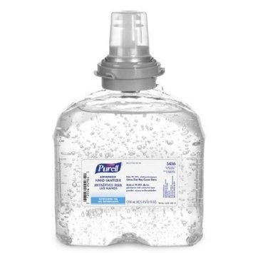 Purell Advanced Hand Sanitizer 1200 mL Alcohol (Ethyl) Gel Dispenser Refill Bottle PK/2