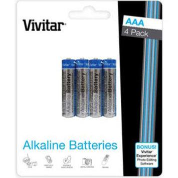 Vivitar 4AAA Alkaline Batteries