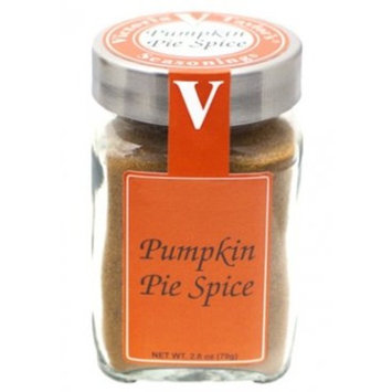 Pumpkin Pie Spice 2.8 Oz Jar - Victoria Gourmet - Fat Free, 15 Cal, per serving - All Natural Pumpkin Seasoning - Use to Make Pumpkin Spice Lattes, Pumpkin Spice Eggnog, Smoothies, Pumpkin Cheesecake and more!
