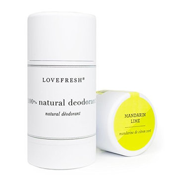 Lovefresh - All Natural Deodorant | Aluminum Free (Mandarin Lime)