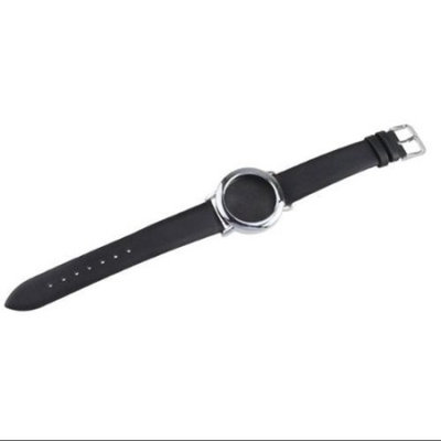AGPtek Replacement Leather Band for Misfit Shine Bracelet Activity & Sleep Monitor for Exercise and Sleeping(Silver)