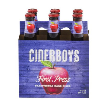 Ciderboys Cider Company Ciderboys First Press Traditional Hard Cider - 6 PK, 12.0 OZ