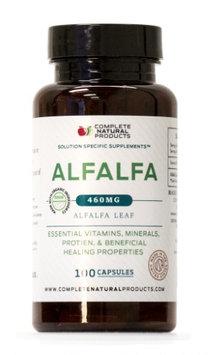 Complete Natural Products Organic Alfalfa Leaf - 100 Capsules