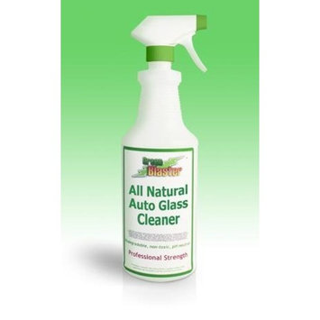 Green Blaster Products GBAUGC322 All Natural Auto Glass Cleaner 32oz Sprayer