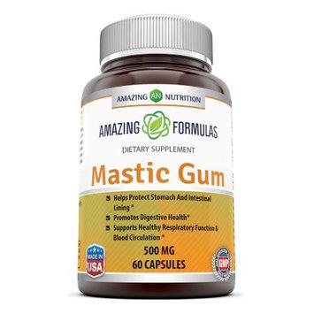 Amazing Nutrition Mastic Gum 500 Mg 60 Capsules