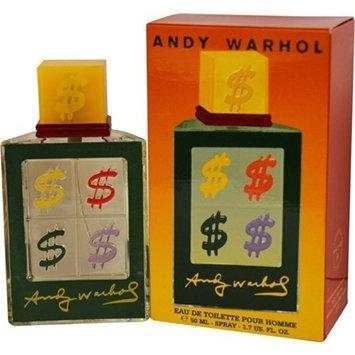 Andy Warhol Pour Homme Collection Fall 2010 Eau-de-toilette Spray, 1.7-Ounce