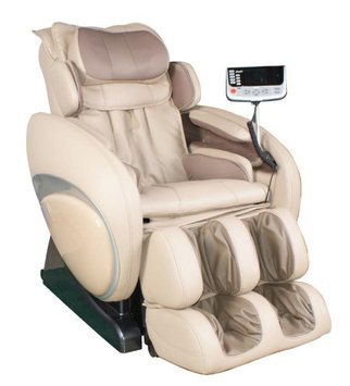 Osaki OS-4000D Executive Zero Gravity Massage Chair in Cream