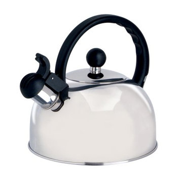 2.5qt WILMORE WHISTLE TEA KETTLE STAINLESS STEEL 2.5qt Wilmore Whistle TEA Kettle Stainless Steel (Silver)