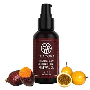 Teadora Brazilian Glow Radiance and Renewal Oil Small Size, 1.1 Ounce