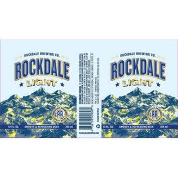 Rockdale Light Beer, 24 pack, 12 fl oz