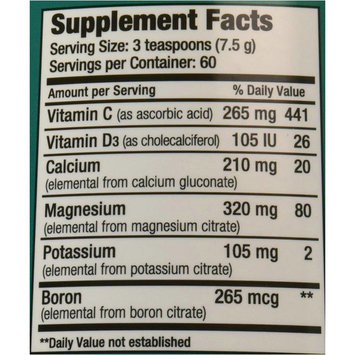 Natural Vitality Natural Calm Magnesium Plus Calcium, Powder, Raspberry Lemon, 16 FL OZ
