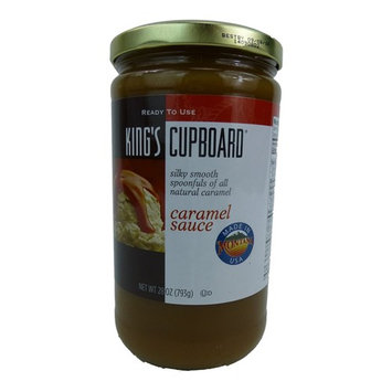 King's Cupboard All Natural Caramel Sauce 28 Ounce