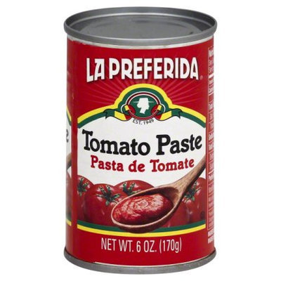 LA PREFERIDA TOMATO PASTE 6OZ