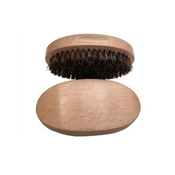 Healthcom Beard Combs Mustache Combs Beard Brush for Men Natural Soft Boar Bristles Handmade Beard Comb for Easy Grooming
