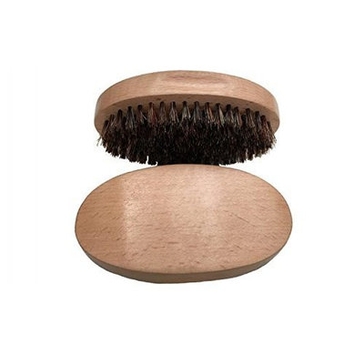 Healthcom Beard Combs Mustache Combs Beard Brush for Men Natural Soft Boar Bristles Handmade Beard Comb for Easy Grooming