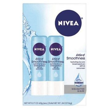 NIVEA Smoothness Lip Balm Dual Pack