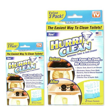 Hurriclean 3-Pack Automatic Toilet Cleaner, As Seen on TV (2)