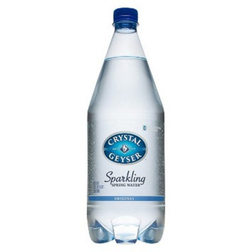 Crystal Geyser Sparkling Spring Water, Original, 1.25 Liter (Pack of 12)