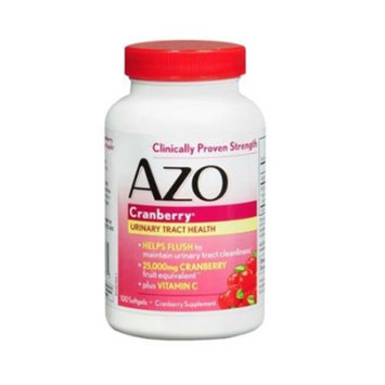 Azo Cranberry Urinary Tract Health Dietary Supplement Softgels Maximum Strength 100.0 ea. (Quantity of 3)