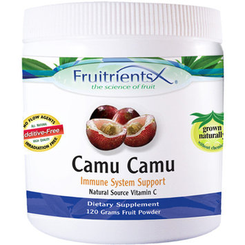 Camu-Camu - Helps Detox the Body, Strengthens Immune System, Supports Anti-Aging, & Plant Source Vitamin C - Emerald Laboratories (Fruitrients) - 120 Grams Fruit Powder