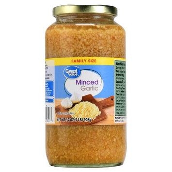 Roland Great Value Minced Garlic, 32 oz