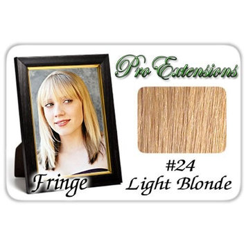 ProExtensions #24 Light Blonde Pro Fringe Clip In Bangs