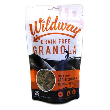 Wildway Apple Cinnamon Grain-free Granola, 8oz (Certified gluten-free, Paleo, Vegan, Non-GMO)