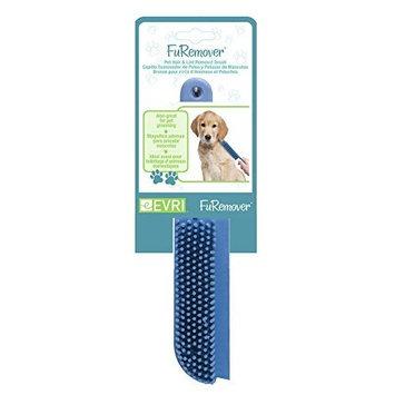 Evriholder FURemover Pet Hair Remover Brush, Blue