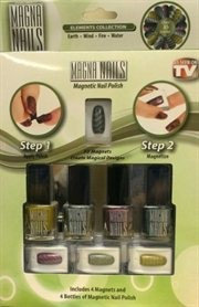 Tvtime Direct Magna Nails Magnetic Nail Polish- Elements Collection