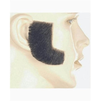 Lacey Wigs LW432DKBNGY Synthetic Sideburn - Dark Brown Gray 56