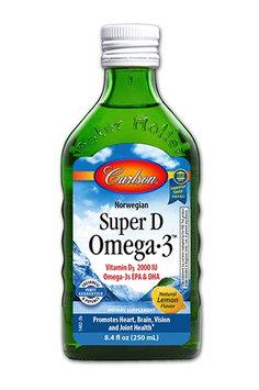 Carlson Super D Omega-3 Lemon 8.4 fl oz