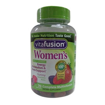 Vitafusion Womens Daily Multivitamin Formula - 70 Ea, 2 Pack