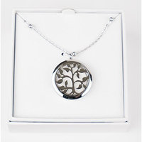 Aromatherapy - Tree of Life Essential Oil Diffuser Necklace