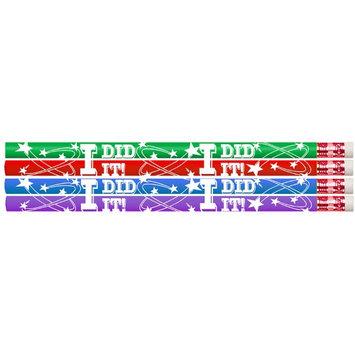 Musgrave Pencil Co Inc MUS2464D I Did It Pencil 12Pk