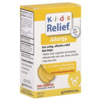 HOMEOLAB USA KIDS RELIEF ALLERGY, 25 ML