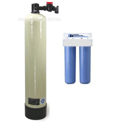 PREMIER SALT FREE WATER CONDITONER SCALE PREVENTION WITH PRE FILTERS