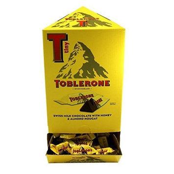TOBLERONE MINIS MILK CHOCOLATE 0.28 OZ TINY BARS 100 ct DISPLAY by Toblerone