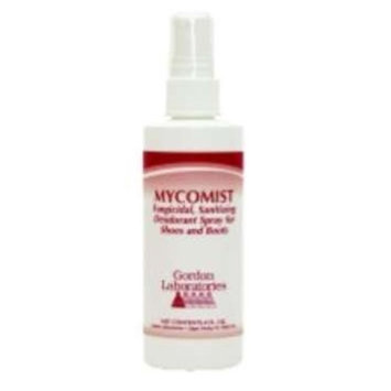 Mycomist Fungicidal Sanitizing Deodorant Spray 4 Oz For Shoes & Boots Gordon Labs