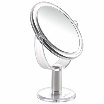 Miss Sweet Makeup Mirror Table Mirror with 5X Magnification & True Image (5X/1X table mirror)