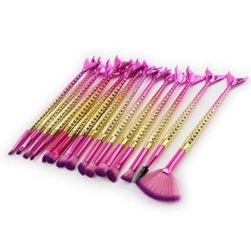 Professional Makeup Brush Set Makeup Brushes for Facial and Brow & Lip Makeup by TOPUNDER K