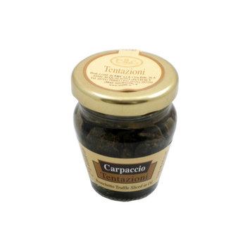 Sliced Bianchetto Truffle Carpaccio in Oil by Tentanzioni