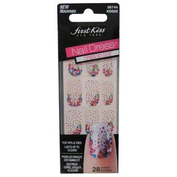 Kiss Nail Dress 28 Strips for Tips and Toes (56744 Kds20) by Kiss