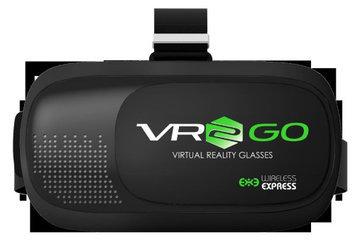 Wireless Express VR2GO Virtual Reality Goggles - Black