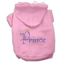 Dog Supplies Prince Rhinestone Hoodies Pink Xxxl(20)