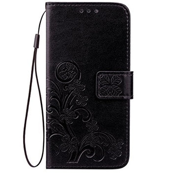 OnePlus 5T Case,AutumnFall New Grass Pattern Faux Leather Wallet Cards Holder Stand Case Cover For OnePlus 5T