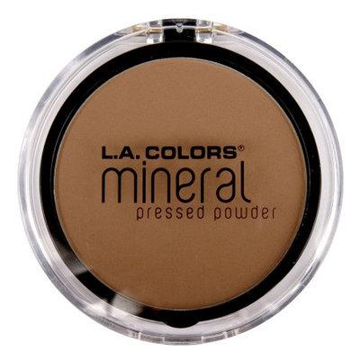 LA Colors Mineral Pressed Powder, Creamy Cocoa, 0.32 Oz