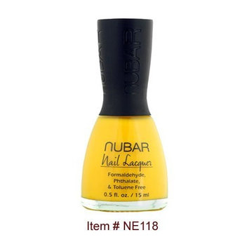 Nubar Nail Polish, Hot Yellow NE118